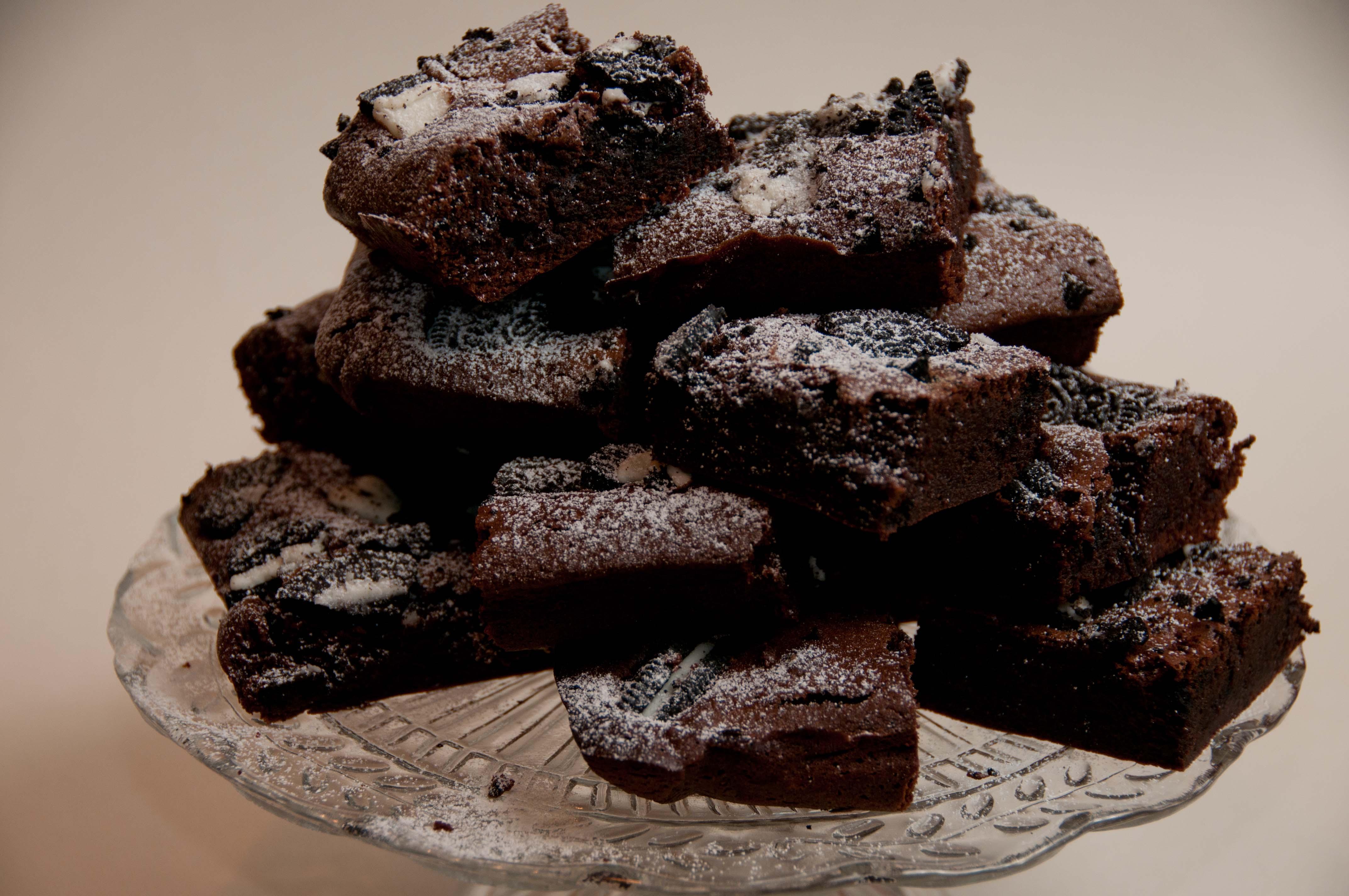 cookies and cream brownies | cakesandstuff